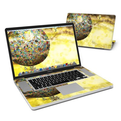MacBook Pro 17in Skin - Up Up and Away