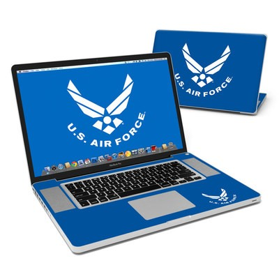 MacBook Pro 17in Skin - USAF Blue