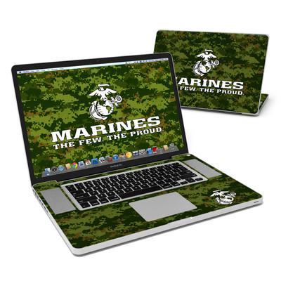 MacBook Pro 17in Skin - USMC Camo