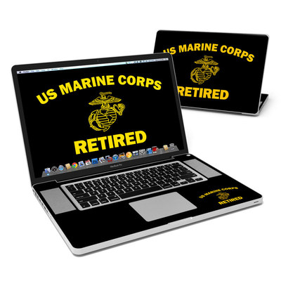 MacBook Pro 17in Skin - USMC Retired