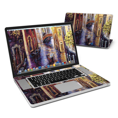 MacBook Pro 17in Skin - Venezia