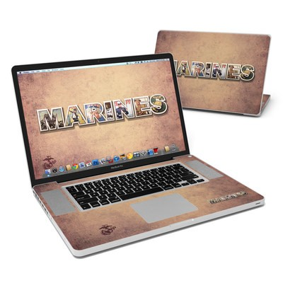MacBook Pro 17in Skin - Vintage Poster