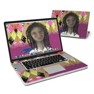 MacBook Pro 17in Skin - Warrior of Love
