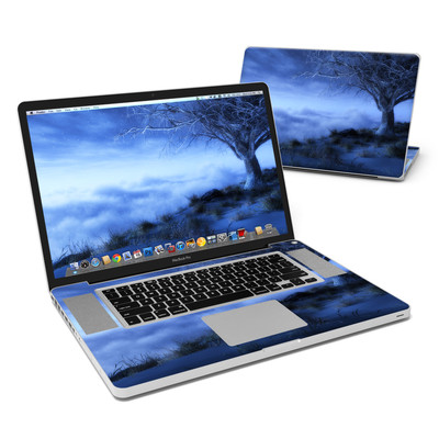 MacBook Pro 17in Skin - World's Edge Winter