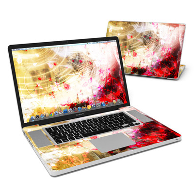 MacBook Pro 17in Skin - Woodflower