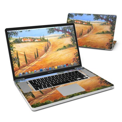 MacBook Pro 17in Skin - Wheat Fields