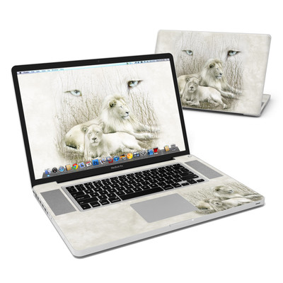 MacBook Pro 17in Skin - White Lion