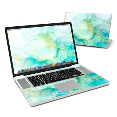 MacBook Pro 17in Skin - Winter Marble