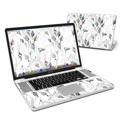 MacBook Pro 17in Skin - Wildflowers