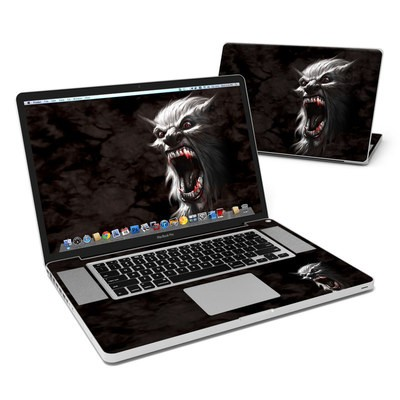 MacBook Pro 17in Skin - Wolfman