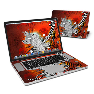 MacBook Pro 17in Skin - Wild Lilly