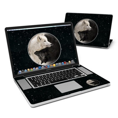MacBook Pro 17in Skin - Wolf Zen