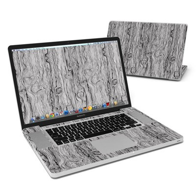 MacBook Pro 17in Skin - Woodgrain
