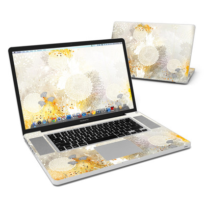 MacBook Pro 17in Skin - White Velvet