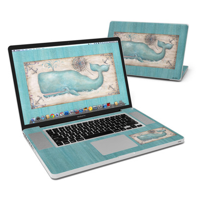 MacBook Pro 17in Skin - Whale Watch