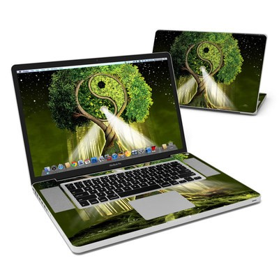 MacBook Pro 17in Skin - Yin Yang Tree