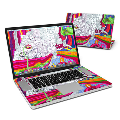 MacBook Pro 17in Skin - In Your Dreams