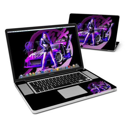 MacBook Pro 17in Skin - Z33 Purple