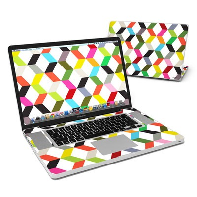 MacBook Pro 17in Skin - Ziggy Cube
