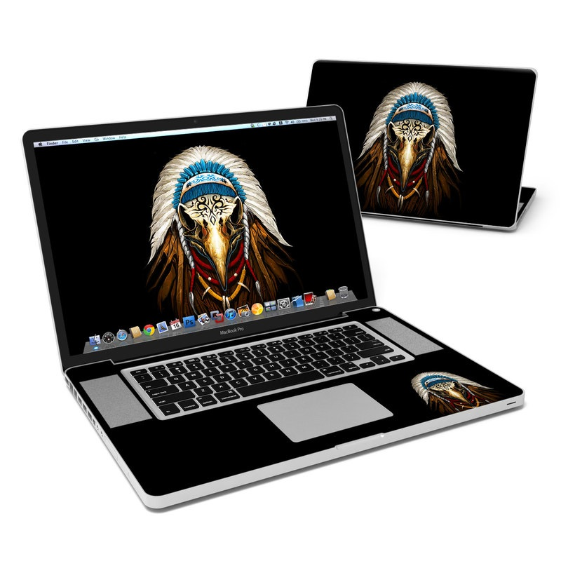 Eagle Skull By Abrar Ajmal: MacBook Pro 17in Skin - Eagle Skull By Abrar Ajmal