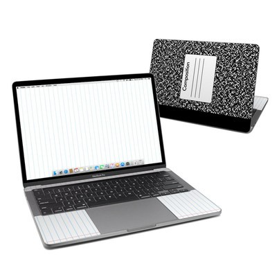 MacBook Pro 13 (2020) Skin - Composition Notebook