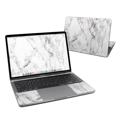 MacBook Pro 13 (2020) Skin - White Marble