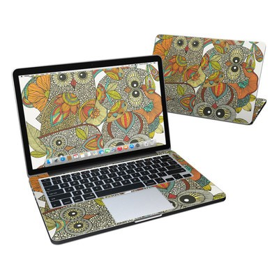MacBook Pro Retina 13in Skin - 4 owls