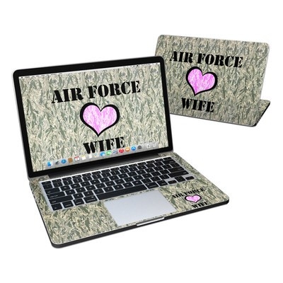 MacBook Pro Retina 13in Skin - Air Force Wife