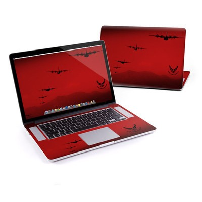 MacBook Pro Retina 13in Skin - Air Traffic