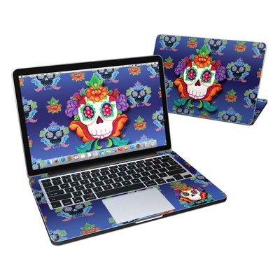 MacBook Pro Retina 13in Skin - Altar Skull