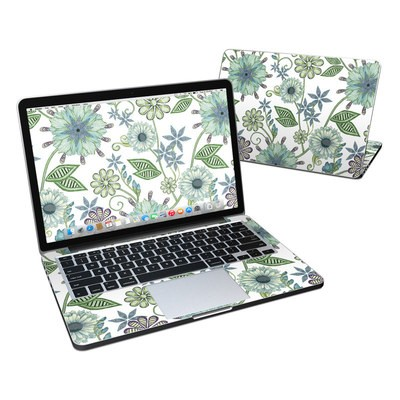MacBook Pro Retina 13in Skin - Antique Nouveau