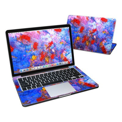 MacBook Pro Retina 13in Skin - Aqua-ese