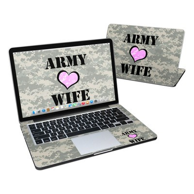 MacBook Pro Retina 13in Skin - Army Wife