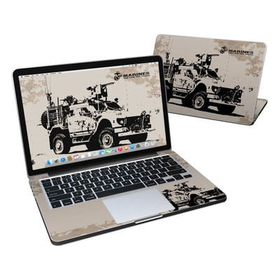 MacBook Pro Retina 13in Skin - Artillery