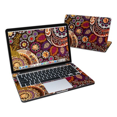 MacBook Pro Retina 13in Skin - Autumn Mehndi