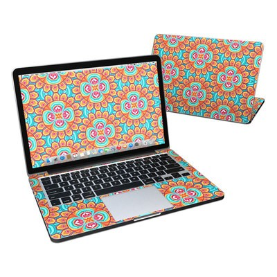 Macbook pro retina 13in skin carnival paisley by carol for Acu salon prices