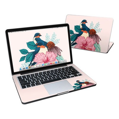 MacBook Pro Retina 13in Skin - Barn Swallows