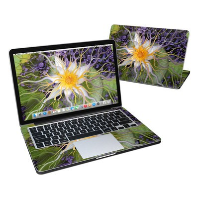 MacBook Pro Retina 13in Skin - Bali Dream Flower