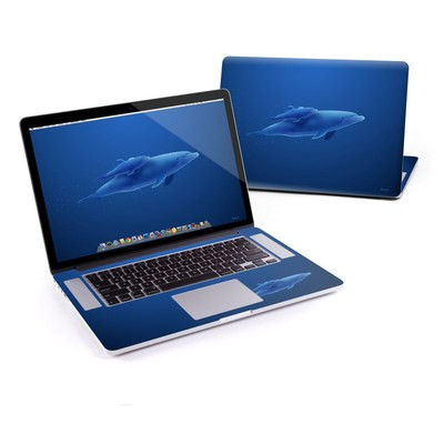 MacBook Pro Retina 13in Skin - Blue Dolphins