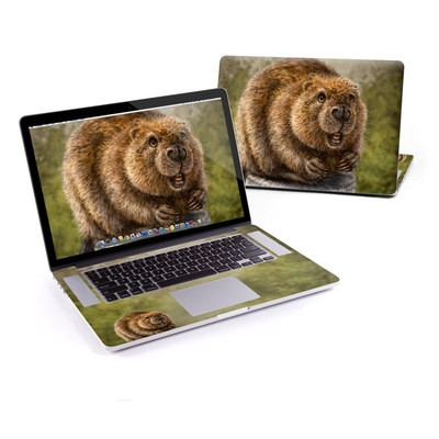 MacBook Pro Retina 13in Skin - Beaver Totem
