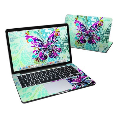 MacBook Pro Retina 13in Skin - Butterfly Glass