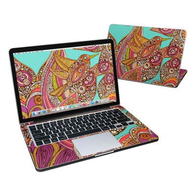 MacBook Pro Retina 13in Skin - Bird In Paradise