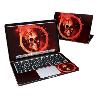 MacBook Pro Retina 13in Skin - Blood Ring