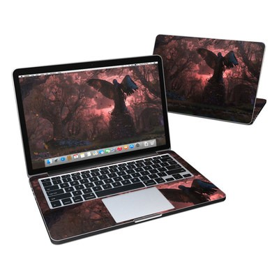 MacBook Pro Retina 13in Skin - Black Angel