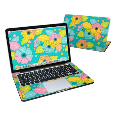 MacBook Pro Retina 13in Skin - Blossoms