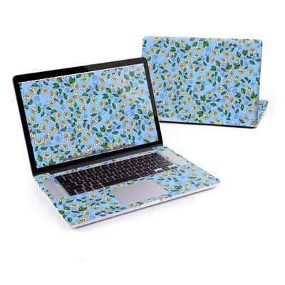 MacBook Pro Retina 13in Skin - Blue Daisy