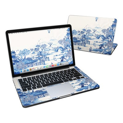 MacBook Pro Retina 13in Skin - Blue Willow