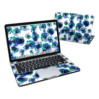 MacBook Pro Retina 13in Skin - Blue Eye Flowers