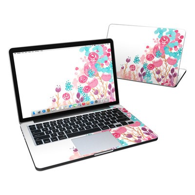MacBook Pro Retina 13in Skin - Blush Blossoms