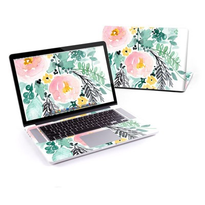 MacBook Pro Retina 13in Skin - Blushed Flowers